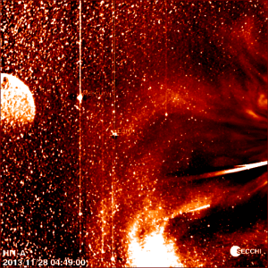 Planet-X-zonnevlam