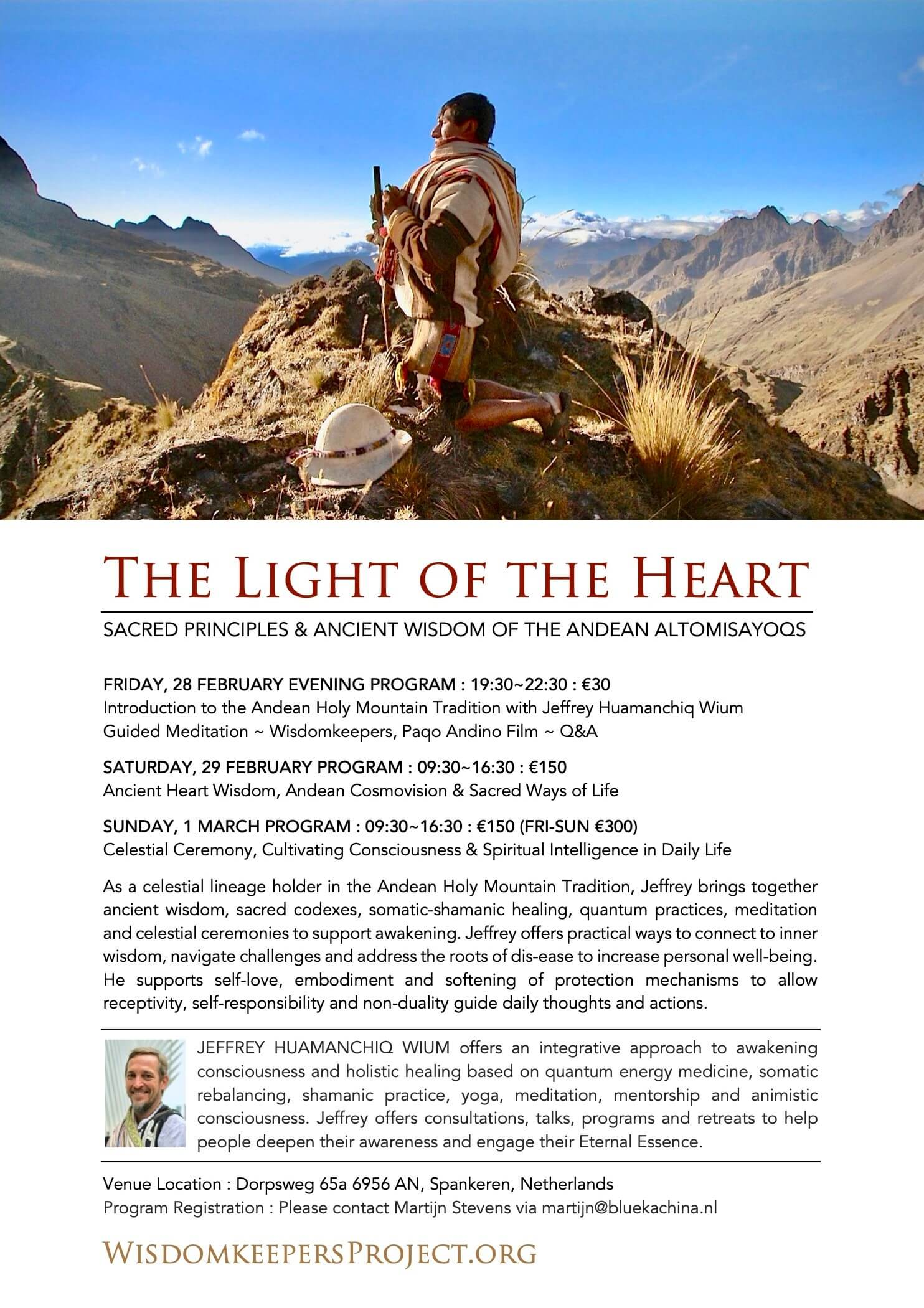 The Light of the Heart Flyer